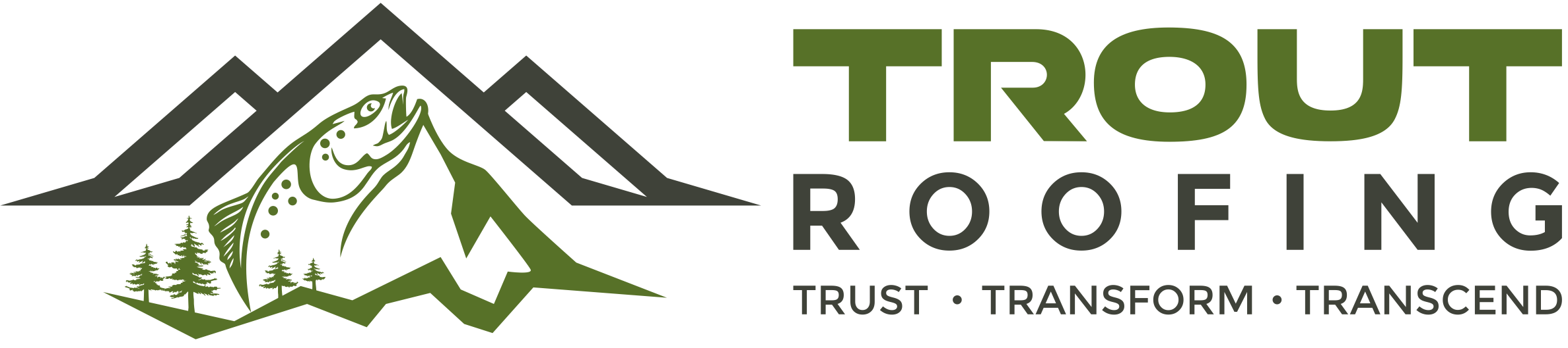 Trout Roofing Logo Big